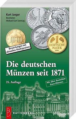 Die deutschen Münzen seit 1871 (Jaeger), 25. Auflage 2017/18, sofort lieferbar