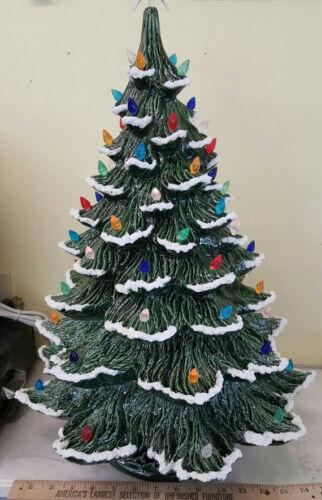 Vintage Style XL Ceramic Christmas Tree Extra Large Ceramic Tree with extenders
