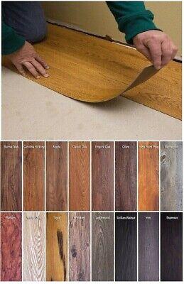 Vinyl Floor Planks 10 Pack Sticky Flooring Luxury LIKE REAL WOOD Peel Stick Tile Luxury Vinyl Plank Flooring