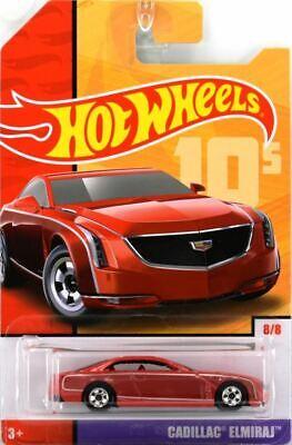 Hot Wheels 2019 Throwbacks 10's 8/8 CADILLAC ELMIRAJ Red GBB92