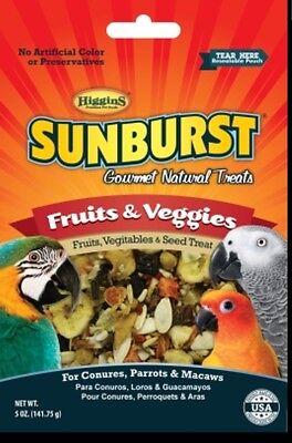 Higgins Sunburst Fruit and vegetable Large bird parrot treat macaw 5oz bulk Large Bird Treat