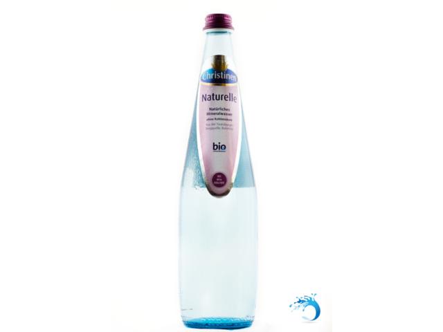 CHRISTINEN Wasser NATURELLE ohne Kohlensäure Mineralwasser ~ 12 Flaschen
