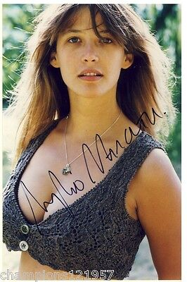 Sophie Marceau ++Autogramm++ ++James Bond++3