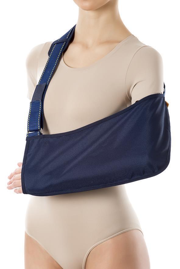 Armschlinge Armtragegurt Armbandage Gipsverband Armorthese Standard blau