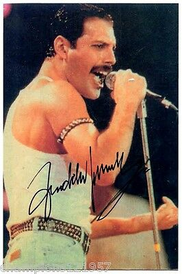 Freddy Mercury ++Autogramm++ ++Rock Legende++2