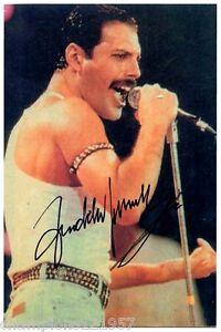 Freddy Mercury ++Autogramm++ ++Rock Legende++2
