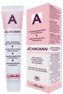 ахромин от пигментных пятен отзывы инструкция