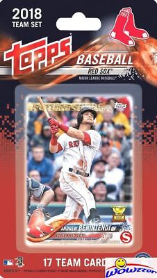 - Boston Red Sox 2018 Topps Baseball EXCLUSIVE Special 17 Card Team Set-DEVERS RC