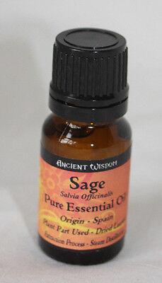 Salvia - Aceite Esencial - 10ml segunda mano  Embacar hacia Spain