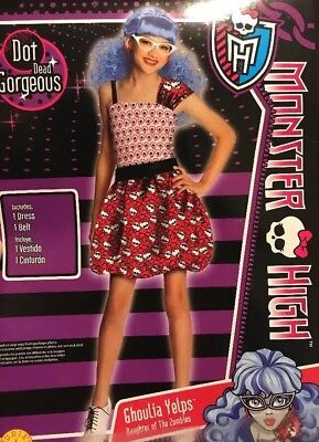 Monster High Ghoulia Yelps Costume Girl Small (4-6) (Monster High Ghoulia Kostüme)