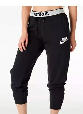 Nike Herren Fitness Sport Trainingshose NSW JDI Jogger Fleece schwarz