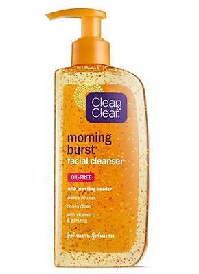 Clean & Clear Morning Burst Facial Cleanser, 8 Fl. Oz