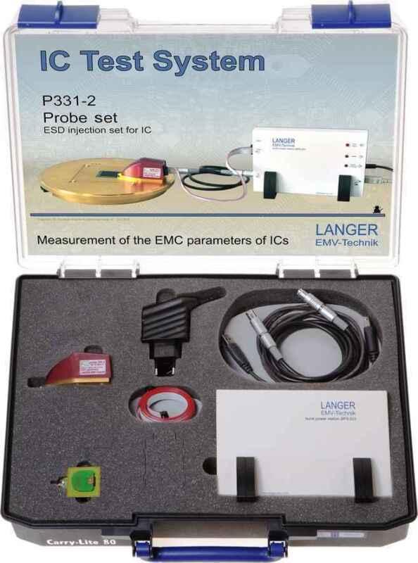 Langer EMV P331-2 Probe Set ESD Pulse Injection acc. IEC 61000-4-2 EMC Tools