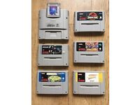 6+ Working TOP Super Nintendo Snes Game Cartridges Only Pal-All Great Games! £67.99 ONO!