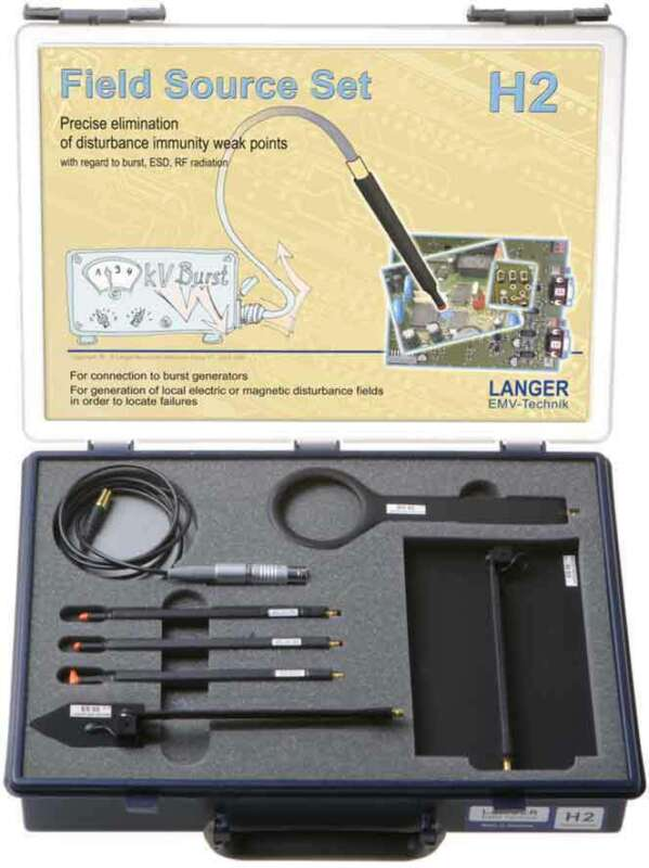 Langer EMV H2 Set - Magnetic Field Sources (EMC Tools and Probes)