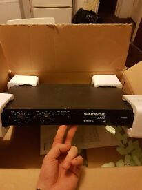 Warrior SB 250 1U PA Power Amplifier 2x 100w