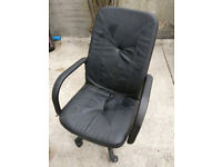 Leather style computer/office chair