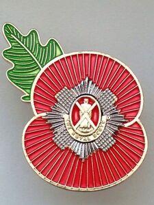 Royal Scots Regimental Poppy Pins