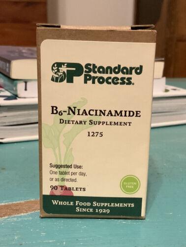 Standard Process B6 Niacinamide 1275 B-Vitamin Supplement 90 Tablets
