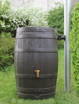 4rain Regentonne Regenfass Vino 250 Liter dunkelbraun Art.-Nr. 295630