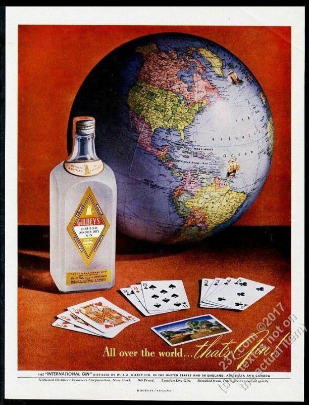 1948 globe photo Gilbey