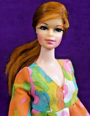 WOW! Mod Era Vintage Redhead Stacey TNT Barbie EXC-NM Orig. S/S No Grn BIN!