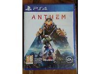PS4 anthem - brand new