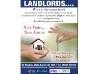 Landlords Wanted Luton Dunstable & Surrounding area
