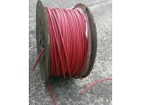 TV / Coaxial cable / Fire alarm cable