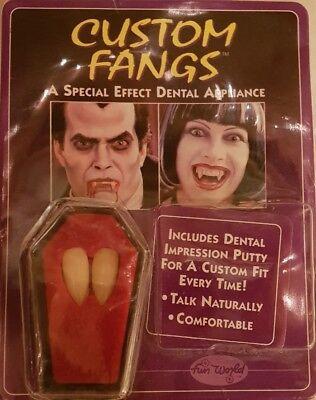 Vampirzähne neu OVP  Fasching custom fangs Fangzähne Vampir