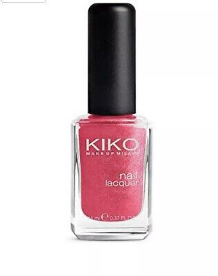 KIKO Milano Nail Lacquer No.487 Metallic Rose 11ml