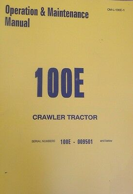 International Dresser Ih 100e Crawler Tractor Loader Operators Manual Book