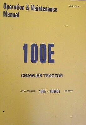 International Dresser Ih 100e Crawler Tractor Loader Operators Manual Book