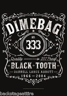 PANTERA Dimebag Darrell Black Tooth 29X43 Cloth Fabric Textile Poster Flag New!