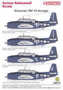 1/48 Avenger Decals