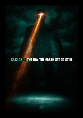 The Day The Earth Stood Still Original Movie Poster  2008  27X40 Ds Coming Soon