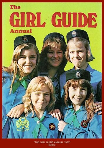 """""""GIRL GUIDE ANNUAL1978"""" (Girl Guide Articles, Stories, Puzzle, Etc.)"""