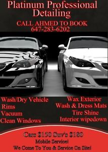 Mobile Car Detailing! We Come To You!