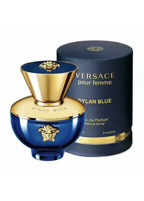 Versace Pour Femme Dylan Blue  Eau De Parfum  Spray 100ml