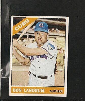 1966 Topps   43 Don Landrum Ex Mt