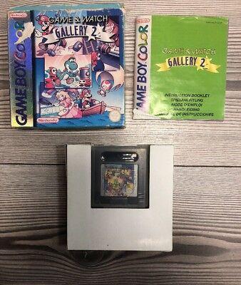 *** Game & Watch Gallery 2 *** Game Boy Color, SP + GBA *** Komplett mit OVP segunda mano  Embacar hacia Spain