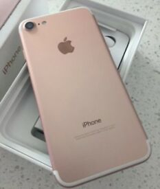 iPHONE 7 128GB, WITH SHOP RECEIPT & WARRANTY, EXCELLENT CONDITION, UNLOCKED