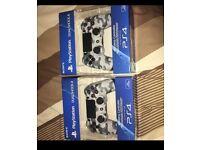 CHEAP PS4 CAMO CONTROLLER BOXED BARGAIN