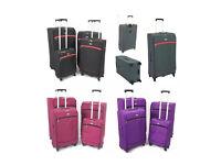 4pc Super Light weight lightest suitcase