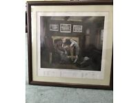 A Century for England - rare limited edition print