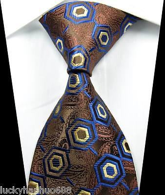 Men's ties New Classic Patterns Coffee