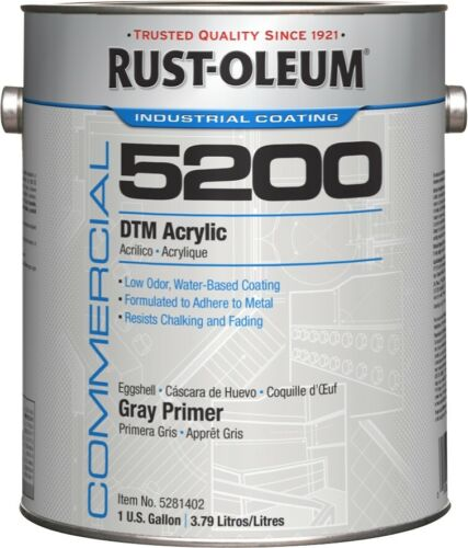 Rust-Oleum 5200 System DTM Acrylic Primer- 1-Gallon