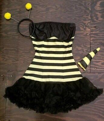 Leg Avenue Extra Small Bumble Bee Costume w/Antenna & Stinger MSRP (Leg Avenue Bumble Bee Kostüm)