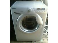 SILVER HOOVER OPTIMA 714 DS 7KG 1400 SPIN WASHING MACHINE FOR SALE
