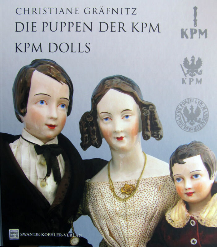 Wonderful book about the precious  KPM Dolls from Biedermeier time